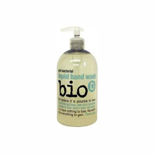 Bio-d Sanitising Hand Wash Fragrance Free 500 Ml