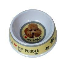 Toy Poodle Dog Bowl