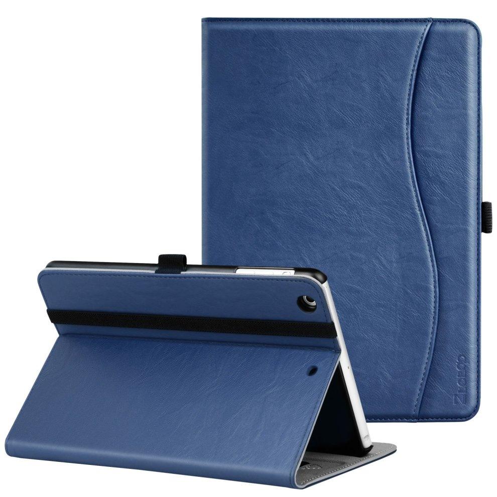 reputable site e116d 2ecec Ztotop iPad Mini Case, Premium Leather Business Folio Stand Protective  Cover for Apple iPad Mini 3/ Mini 2/ Mini 1 Tablet with Auto Wake/Sleep,...
