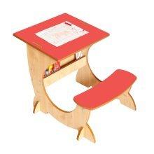 Little Helper 4-in-1 ArtStation | Reversible Easel, Blackboard & Desk