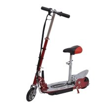 Homcom 120w Deluxe Kids Electric E Scooter Battery Ride on Toy Adjustable Seat