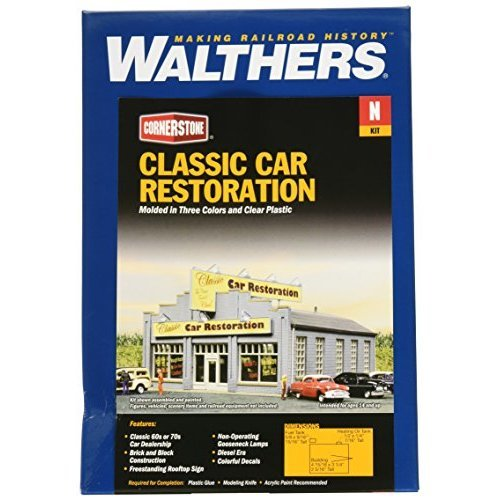 Walthers Inc Classic Car Restoration Kit 7 8 2 X 10 7 X 4 7cm