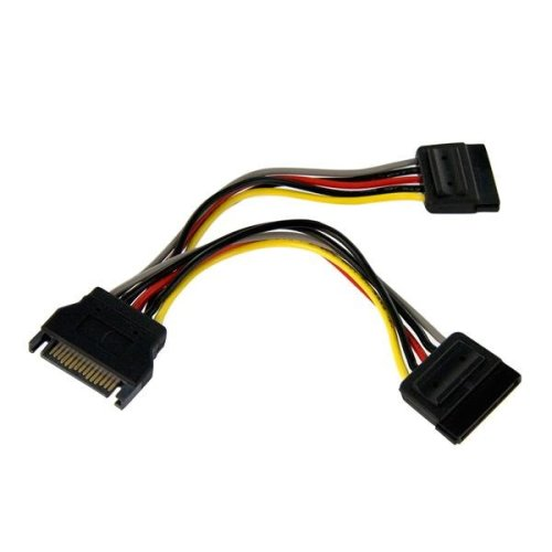 "6"" SATA Y Splitter Cable"