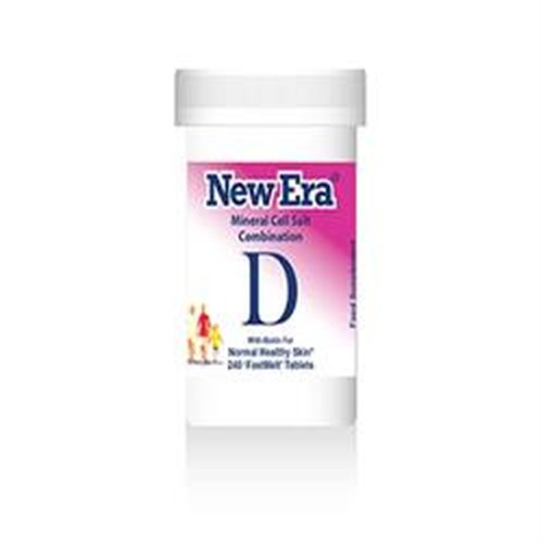 New Era Combination D - for Normal Healthy Skin 240 Tablets