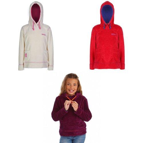 Regatta Great Outdoors Kids Girls Heritage Hunny Pullover Hooded Fleece