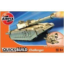 Airj6010 - Airfix Quickbuild - Challenger Tank