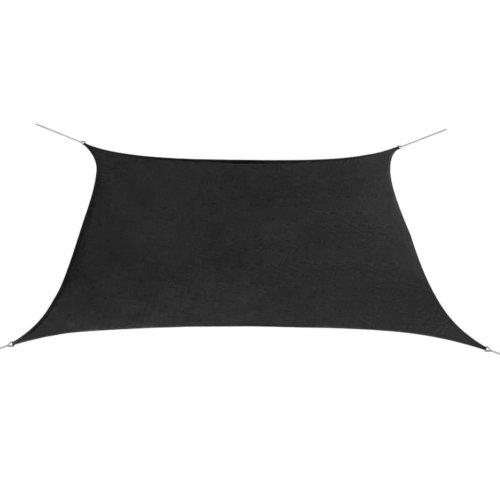 vidaXL Sunshade Sail Oxford Fabric Square 3.6x3.6 m Anthracite