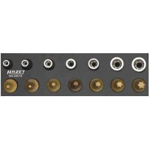 HAZET 163-251/14 Torx Profile Tool Set - CVD-TIN Coated