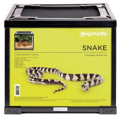 Komodo Snake Starter Kit (UK Plug)