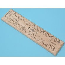 Cribbage board, solid timber-00181