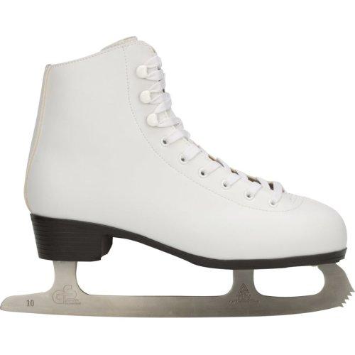 Nijdam Women's Figure Skates Classic Size 39 Ice Skating Boots 0034-UNI-39