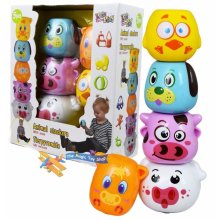 5 pieces Animal Stackers with Sound