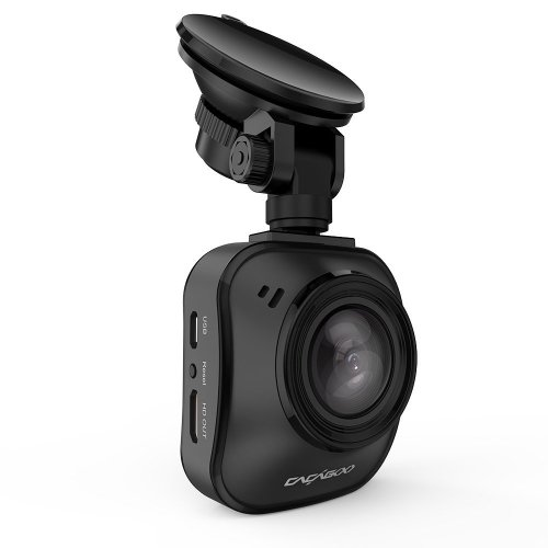 CACAGOO Dash Cam Car Cameras In Car Dashcam FHD 1080P DVR Digital Driving Video Recorder with 170°Wide Angle 6G Lens HDR Super Night Vision  Loop...