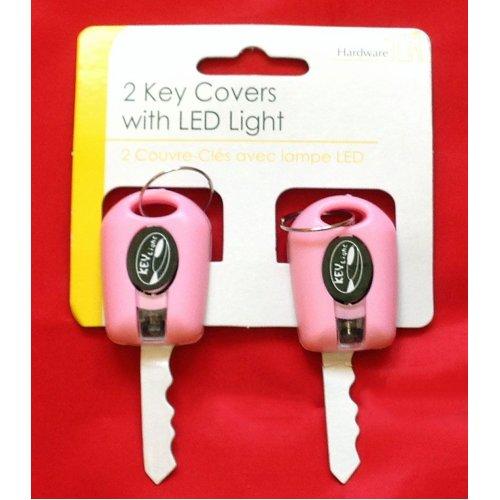 Key Fob LED Light 2pc PINK Only
