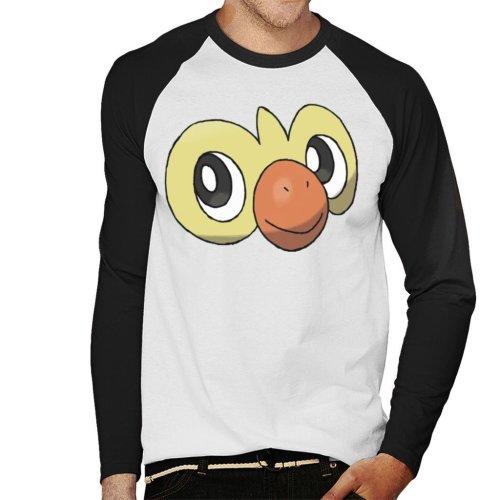 dc62c24ee Pokemon Sword And Shield Grookey Face Men's Baseball Long Sleeved T-Shirt  on OnBuy