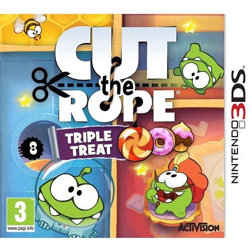 Cut the Rope Triple Treat Nintendo 3ds Game Uk