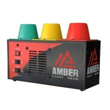 Amber Fight Gear Interval Gym Timer Muay Thai MMA Boxing Round Sparring Timer