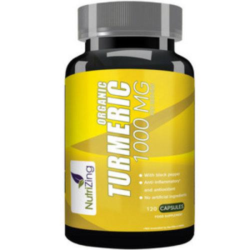 NutriZing's Turmeric Curcumin Supplement