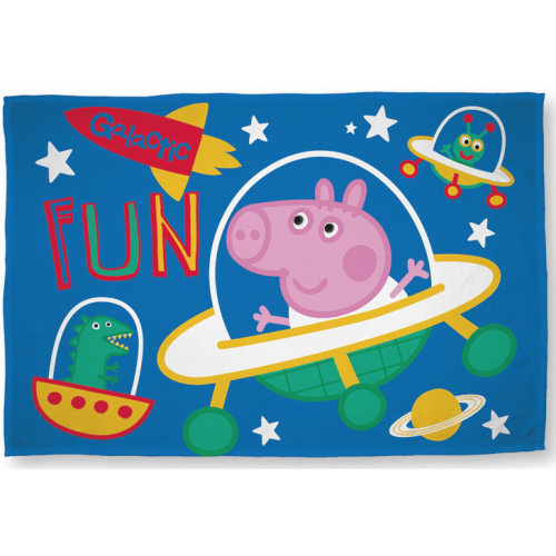 George Pig 'Planets' Polar Fleece Blanket