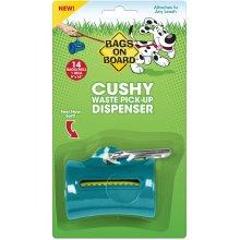 Bags On Board Cushy Dispenser W/14 Bags-Teal
