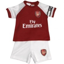 Official Arsenal Baby Core Kit T-shirt & Shorts Set - 2017/18 Season (12-18 - -  arsenal baby core tshirt shorts set 201718 season