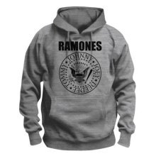 Ramones Men's Pullover Hoodie: Presidential Seal (x-large) -  ramones presidential seal pull over hoodie new official