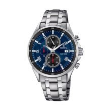 Festina F6853/4 Men's Chronograph Display Stainless Steel Strap Watch