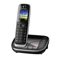 Panasonic Handset Cordless Home Phone Nuisance Call Blocker and LCD Colour Display