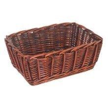 Dark Stained Basket