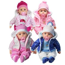 "Life-Like Baby Doll | 20"" Life-Size Baby Doll with 12 Baby Sounds"