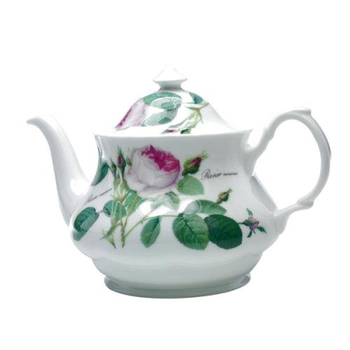 Roy Kirkham Large Teapot Redoute Rose