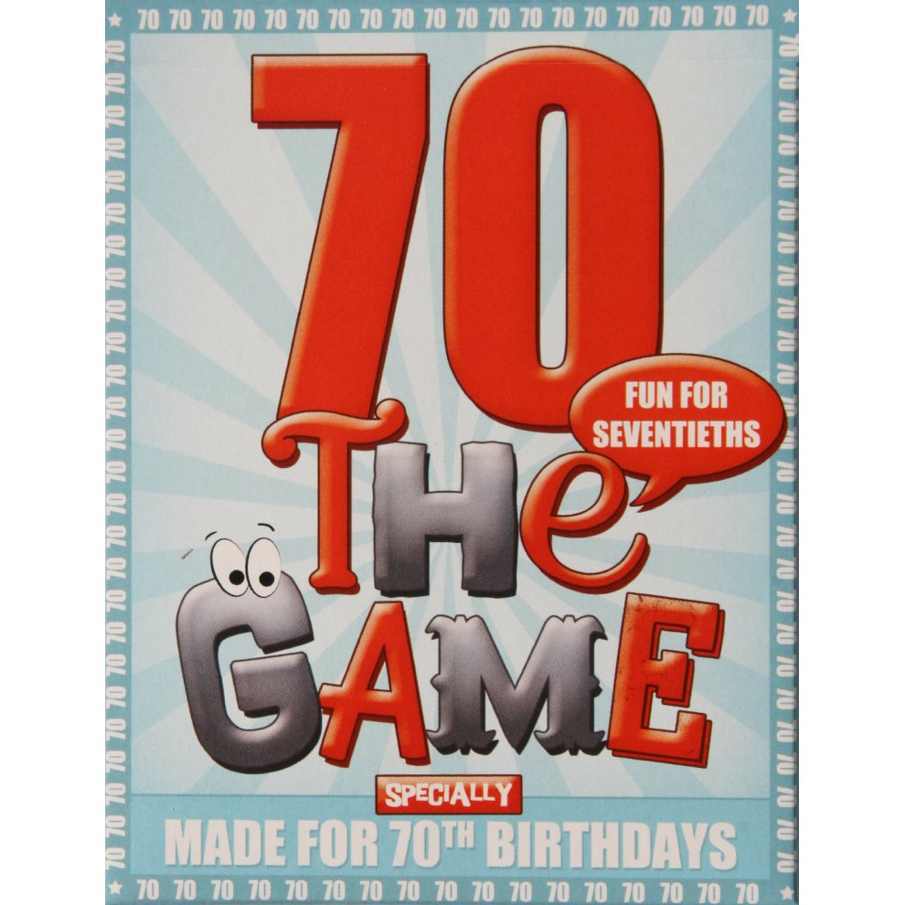 70TH BIRTHDAY GAME