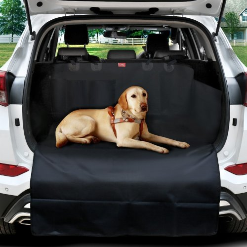 MATCC Car Boot Liner Protector Boot Cover for Dogs Waterproof Car Boot Protection Pet Dog Back Seat Cover Mat Trunk Dog Blanket with Side...