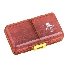 Travel Medicine Tablet Holder Storage Case