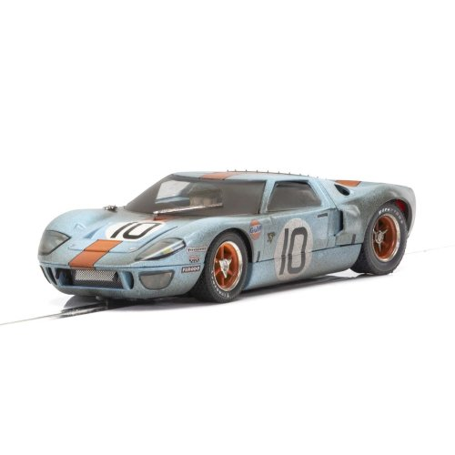 Scalextric Ford GT40 Gulf #10 Weathered