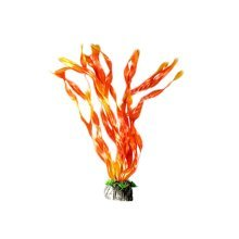 Emulational Fish Tank Plants Aquarium Decor Coral Decoration,Orange