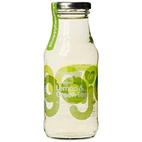 Mangajo Lemon and Green Tea Drink 250 ml (Pack of 12)