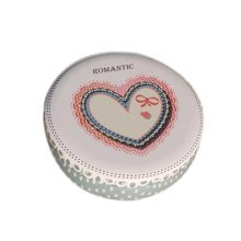 Round Cute Pill Boxes Candy Metal Case Storage Box