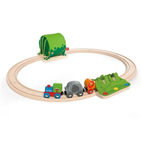 Hape Jungle Train Journey Set E3800