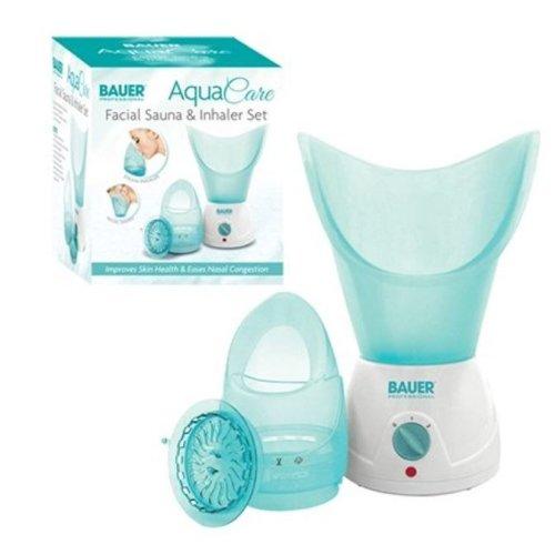 Bauer Aqua Care Facial Sauna & Steam Inhaler Set Face Skin Care Nasal Congestion