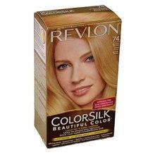 Revlon ColorSilk Beautiful 74 Hair Color, Medium Blonde PACK OF 3