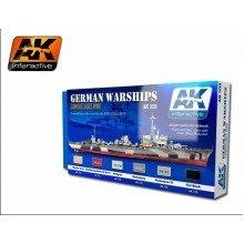 Ak00559 - Ak Interactive Set German Warships Set