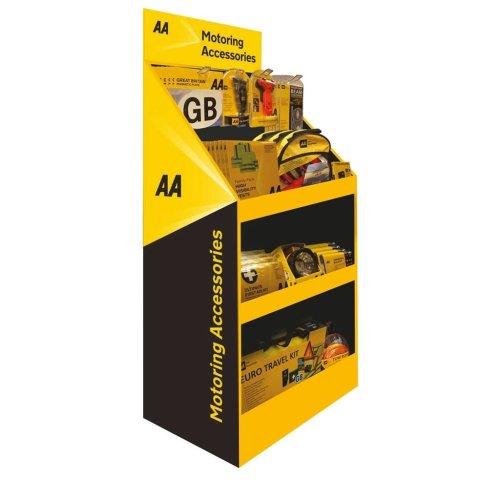 AA Car Essentials Merchandising Kit