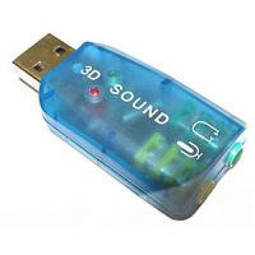 Dynamode USB-SOUNDCARD2.0 5.1channels USB audio card