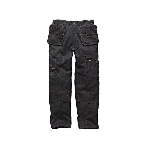 Dickies WD801 BK 40R Redhawk Pro Trouser Black Waist 40in Leg 31in