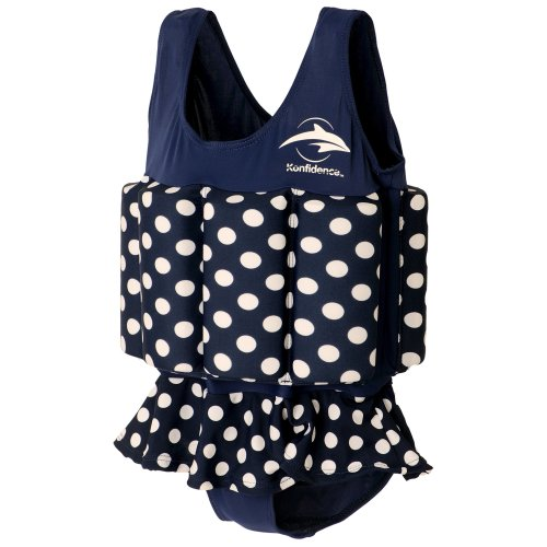 Konfidence Float Suit - Polka Dot (1-2 Years)