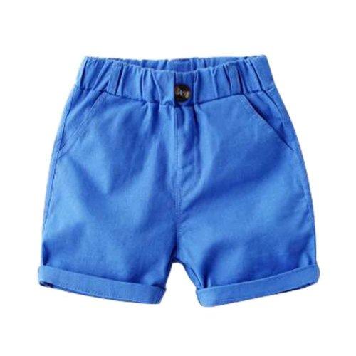Baby Boy Short Pants Cute Short Pants for Summer Suitable for 100cm [D]