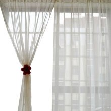 A Pcs of Sweet Gauze  Curtain Kitchen Curtain Coffee Screen