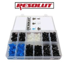 RESOLUT Vauxhall / Opel Assorted Trim Clips 300 Pieces 9038