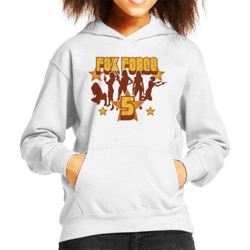 Fox Force Five Pulp Fiction Kid's Hooded Sweatshirt